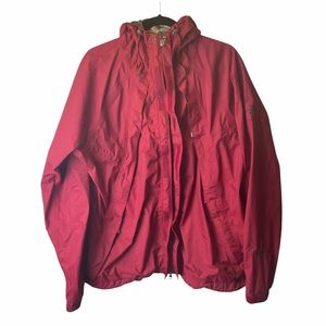 The North Face spring jacket red size large